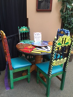 harry potter table and chairs